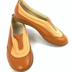 Hogan Carmel Leather Loafer Driving Shoe 8.5M